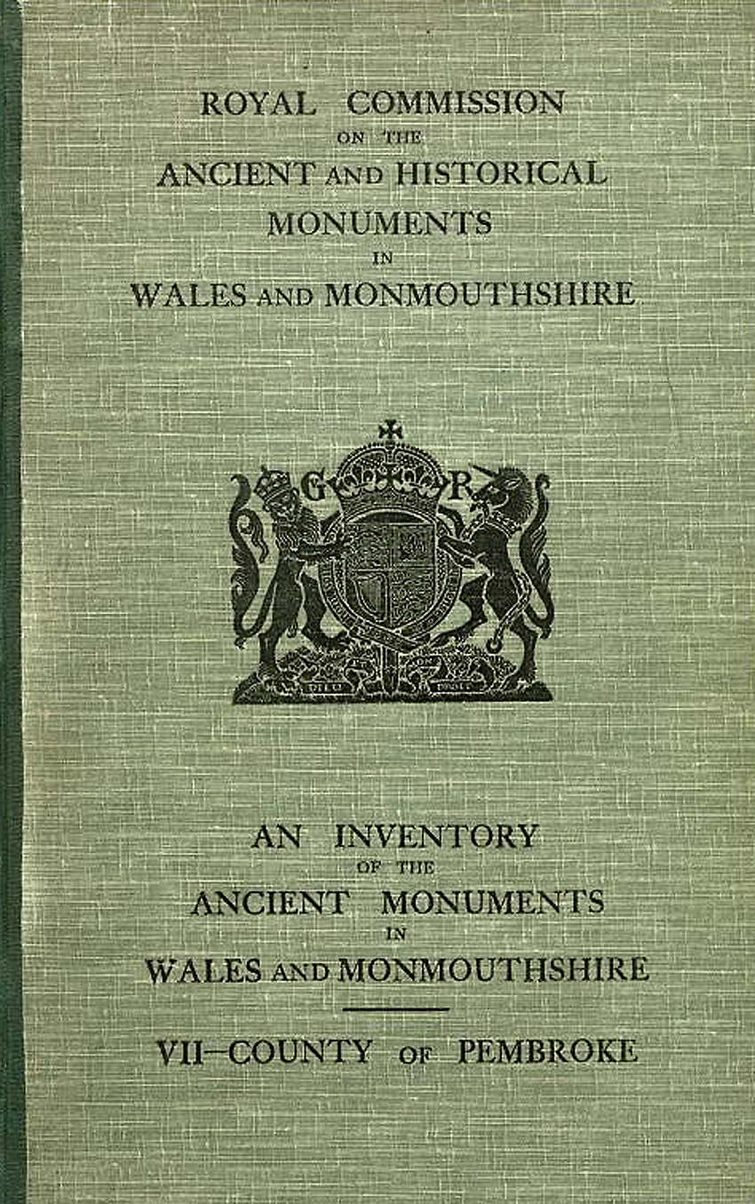 Pembrokeshire - An Inventory of the Ancient Monuments in the County