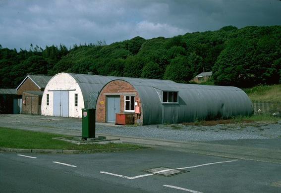 Two Nissen Huts at RNAD Trecwn, Pembrokeshire, NPRN 96059 - IMG0003