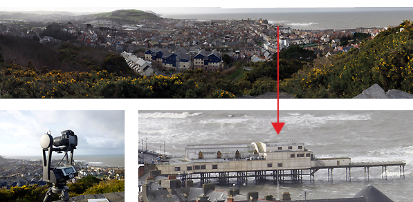 Gigapixel Photography Aberystwyth - Royal Commission on the Ancient and Historical Monuments Record of Wales