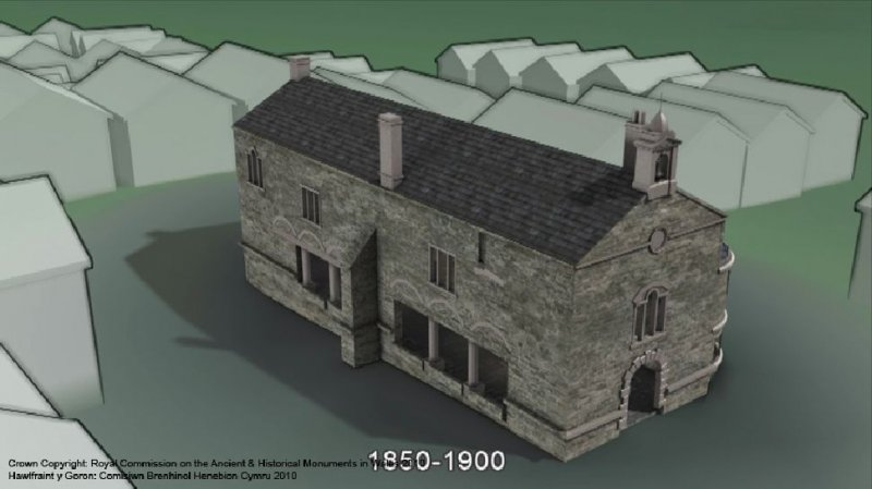 Still taken from the animation of the Denbigh Town Hall model – phase II, refDCH45, C608743