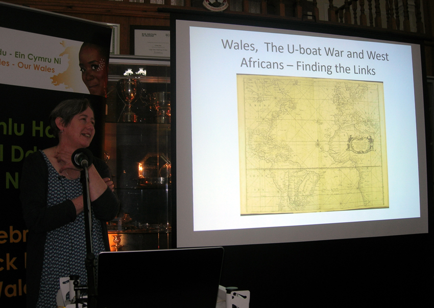 Helen Rowe - Wales, the U-boat war and west africans