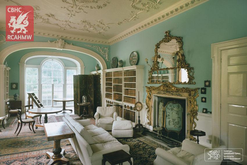 Fonmon Castle Library, 1979 Ref. DI2006_1952 C.422949 NPRN: 300300
