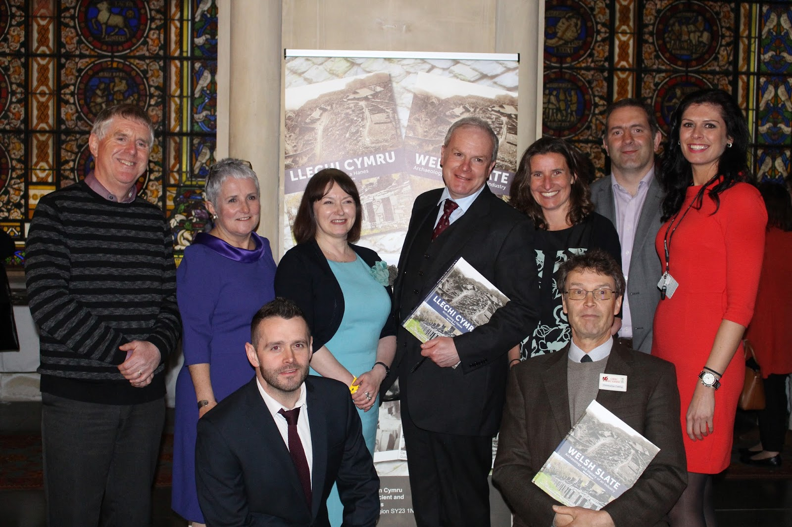 The World Heritage Bid steering group. Led by Gwynedd Council, with membership from RCAHMW, Cadw, National Museum Wales, Snowdonia National Park Authority, Govannon Consultancy, Bangor University and the National Trust.
