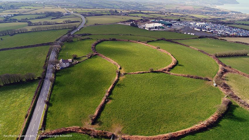 Castell Nadolig hillfort, Ceredigion