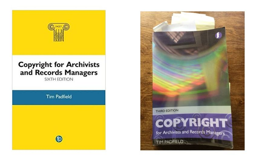 Copyright for Archivists and Records Managers, Tim Padfield. London