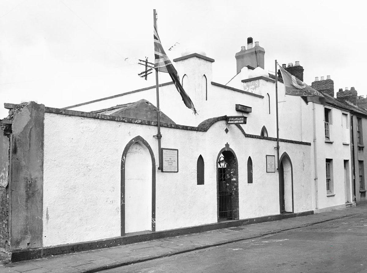 Peel Street Mosque, Cardiff taken in 1964